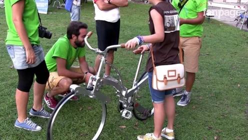 不用上锁的自行车,即使锁上了也会丢,原因让人咂舌