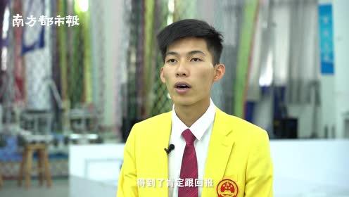 """00后广东仔终结韩国人""""五连冠"""",获移动机器人中国队首枚金牌"""