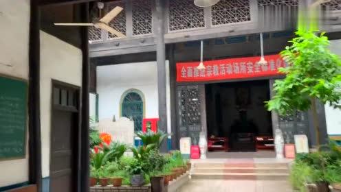 年中西文化结合古迹泸州真原堂,闹市中一处静谧风景