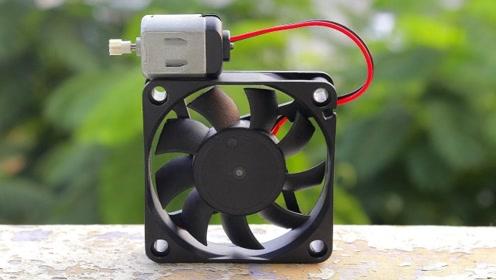 牛人教你制作mini吸尘器,你学会了吗?