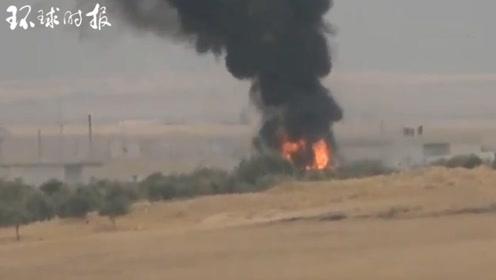 库尔德人武装发布疑似击毁土耳其豹2A4坦克视频