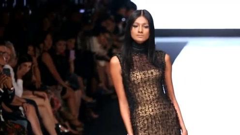 时尚鱼尾裙,背部拉链设计,简约便捷