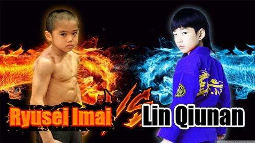 世界上最能打的两小孩,中国日本各一个,PK起来到底谁更强?