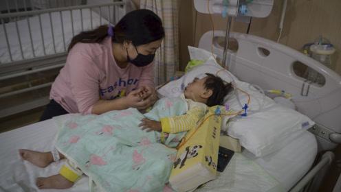 """""""不能看着女儿等死,我愿以命换命"""",女童患重症父亲却难以相救"""