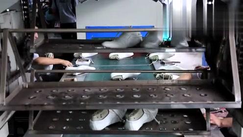 外国的皮鞋工厂生产线,网友:这水平比我们温州皮鞋差远了