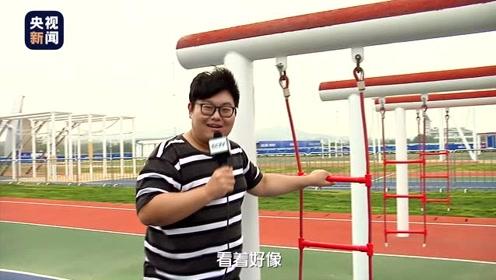 """""""海军五项""""障碍跑怎么比?央视记者""""胖三斤""""赛场体验特色环节"""