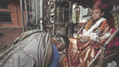 尼泊尔活女神,从小被万人敬仰,退位后却无人敢娶
