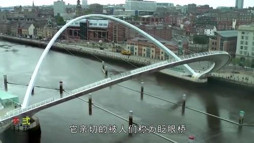 全球唯一会转动的桥梁,两年用了1.9万吨混凝土,撞不坏