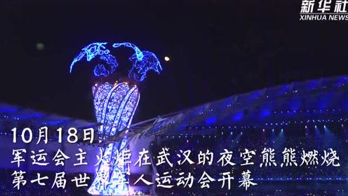 和平之光闪耀军运——第七届世界军人运动会开幕式侧记