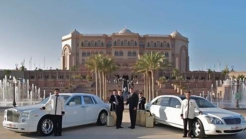 全球唯一一座八星级酒店,用40吨黄金装饰,接送全是劳斯莱斯