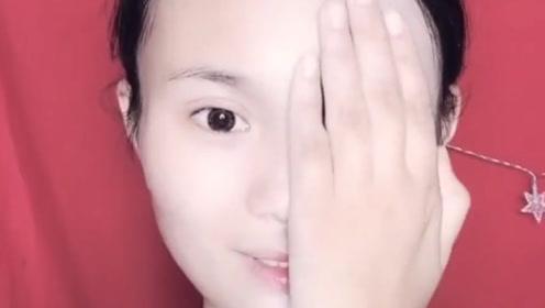 妹子仿妆范冰冰武媚娘造型,拿开手才是最惊艳的时刻!