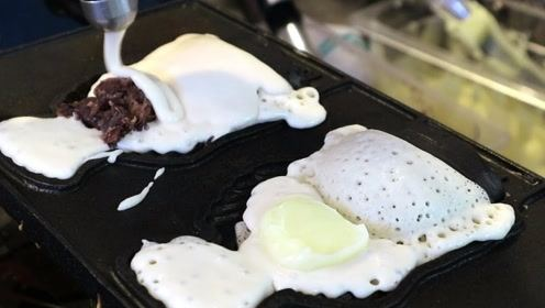 """韩国人气美食冰淇淋鲫鱼饼,""""一鱼两吃"""",真的太过瘾了!"""