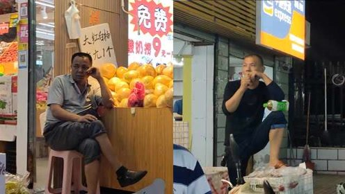 """高校水果店价格战""""魔性""""叫卖:全场5折!绝不忽悠更不吹牛"""