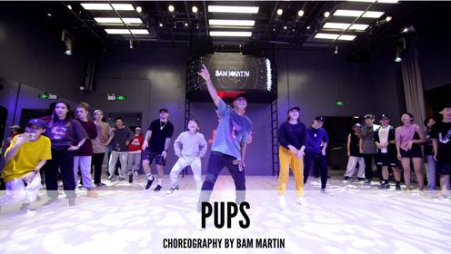 舞邦 Bam Martin 课堂视频 Pups