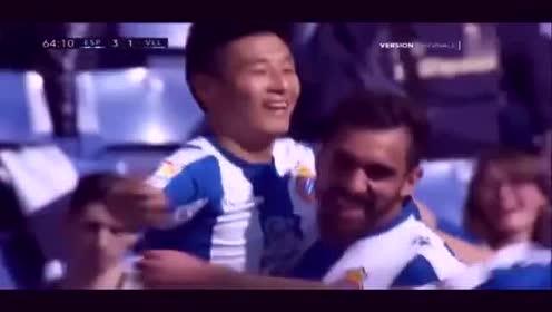 武磊进球了!中国球员西甲联赛首粒进球诞生!西甲解说连喊武磊