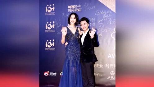 身高163的王祖蓝和身高175李亚男合体亮相,也不介意老婆穿高跟鞋