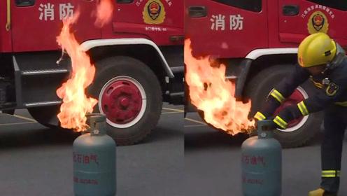 """""""负压回火""""会导致爆炸?消防员现场辟谣:网络流言存在误导"""