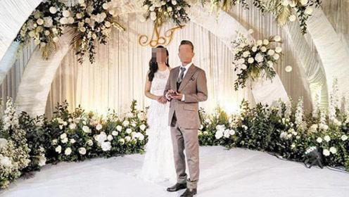 女子嫁5旬假富豪,结婚当天男子逃跑,留下82万婚礼费由她承担!