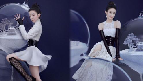 赵丽颖复工首次拍摄杂志封面,脚尖的细节却被网友心疼