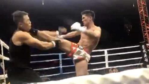 74秒KO咏春大师的搏击选手:我就三流水平,对方是有实力的