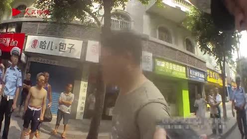 真猖狂!内江一男子违停还辱骂交警,结果...