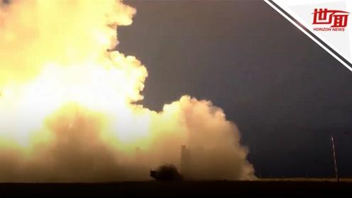 俄罗斯S-400防空导弹系统试射画面曝光 升空瞬间超震撼