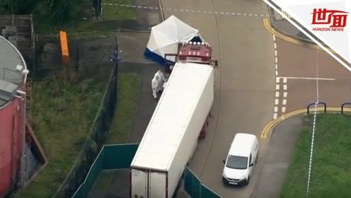英藏尸39人卡车最后监控曝光 四天前已进入英国