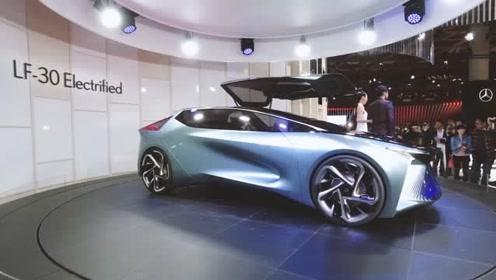 2019东京车展全场它最帅 雷克萨斯首款纯电车型LF-30
