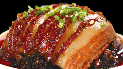 厨师教正宗《梅菜扣肉》做法,肉质软烂,肥而不腻,刚上桌就抢光