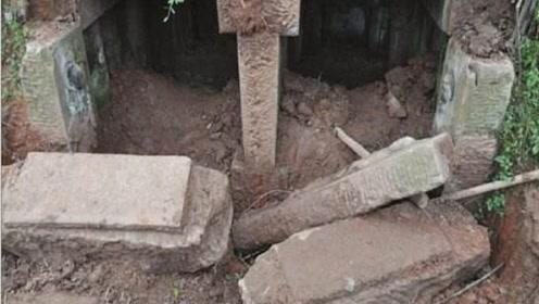 几百年前被盗古墓,专家苦寻7年未果,竟在老农红薯窖发现秘密