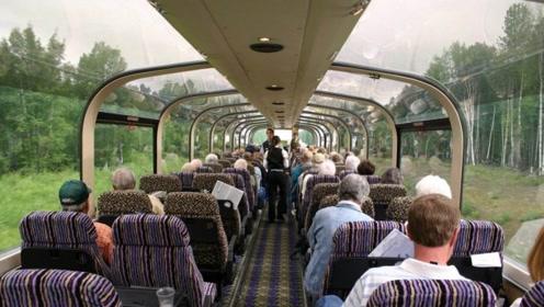 中国高铁长度全球第一,为啥美国却不造?看到美国火车就明白了
