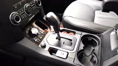 改个车:路虎发现4内饰改装,高档SUV的内饰配置就是不一样!