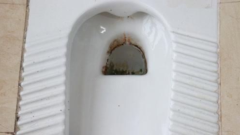 卫生间的便池太脏了,简单一个方法,多脏的地方都洗得洁净如初