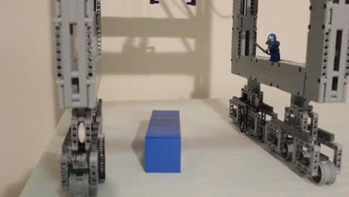 码头集装箱起重机是如何运作的?今天模仿给大家看看