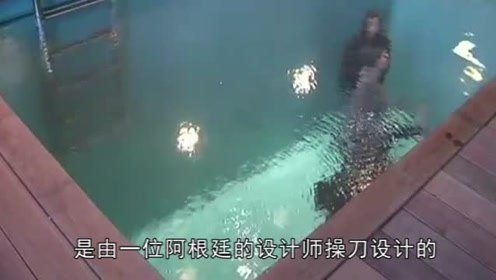 """日本""""神奇""""的泳池,水下行走衣服都不湿的,手机放心带在身!"""