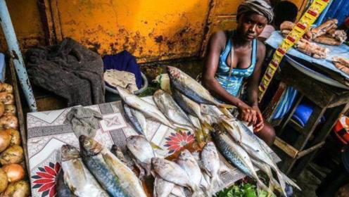 为什么非洲人忍饥挨饿,却不值得同情?看看他们的菜市场就知道了