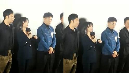 《受益人》首映礼,柳岩谈大鹏是一生挚友原因曝光,让人意外