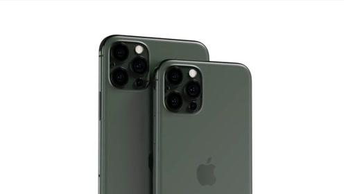 iPhone 12系列概念机曝光:后置四摄、并支持5G!