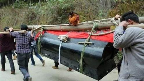 为什么出殡的棺材不能落地?