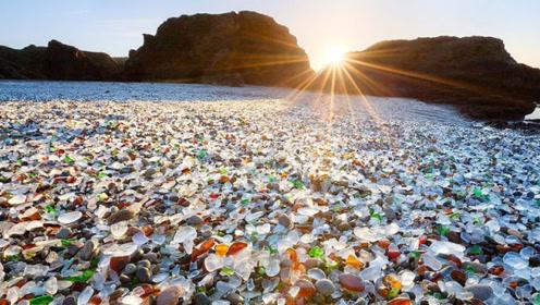 你见过这种海滩吗?宝石遍地,游客随便捡!