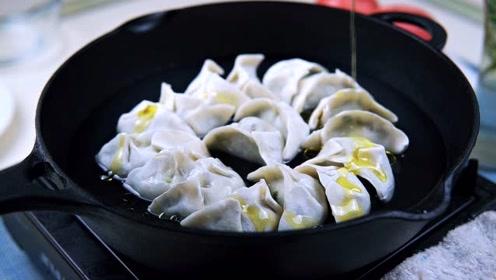 立冬香煎速冻饺子做法,不仅皮脆还让肉更香!