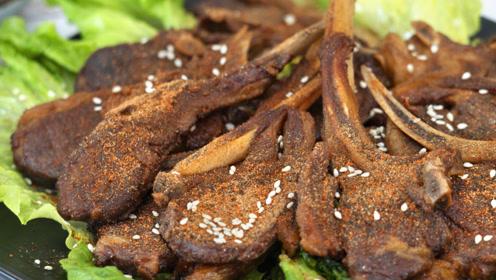 羊排最好吃的做法,不用烤箱,不用炭火,外酥里嫩还多汁,馋死人