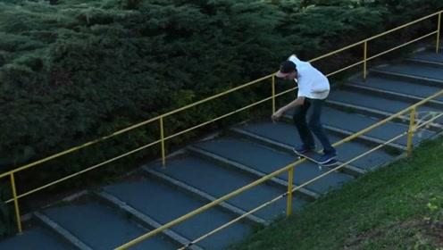 街头的艺术,滑板少年来袭!一次看个够!