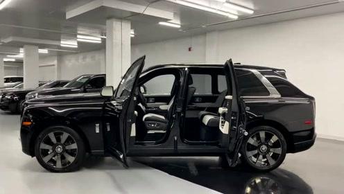 2020款劳斯莱斯SUV到货,按下钥匙那刻才是霸气的开始!