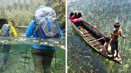 4个世界上很清澈的湖泊河流,你愿意去哪个?