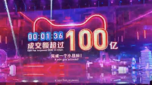 刺激!96秒成交100亿 !
