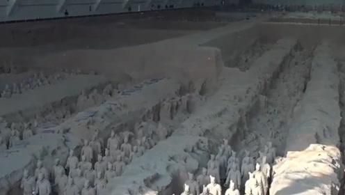 秦始皇陵至今还不敢挖,背后有什么秘密,看完卫星云图明白了