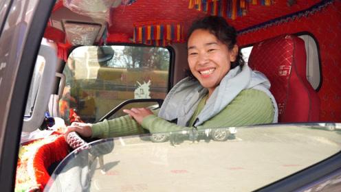 越努力越幸运:宁夏女司机开着4.2米蓝牌轻卡跑全国