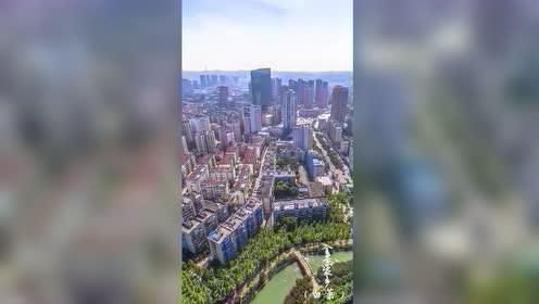 航拍宜昌,综合实力仅次于武汉,换个高度欣赏如此震撼的城市!