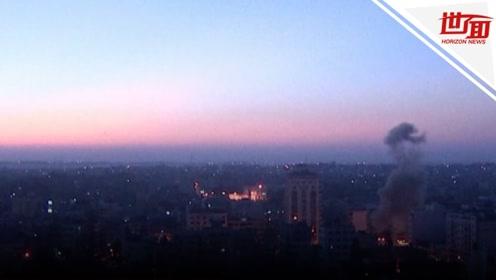 一夜空袭两国!以色列炸死一武装组织头领 巴军回击50余枚火箭弹
